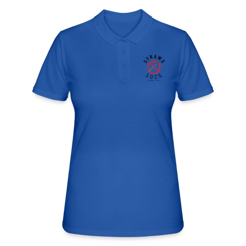 Straws Suck Classic - Women's Polo Shirt
