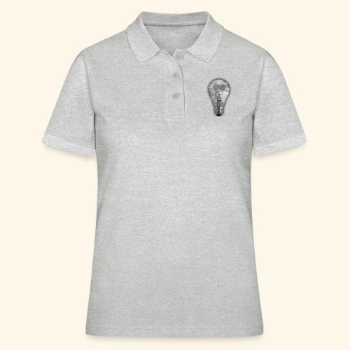 moon bulb - Camiseta polo mujer