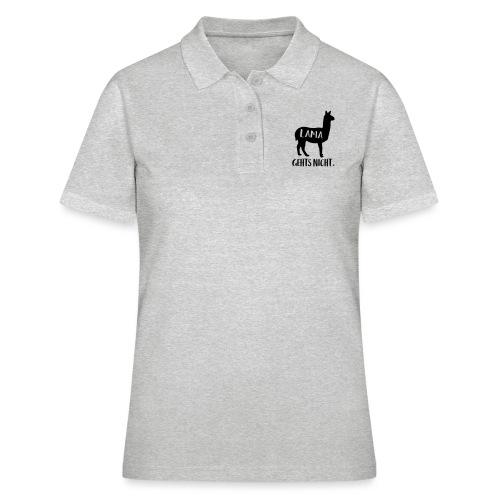 Lustiger Langsam Sport Lama Tier Spruch - Frauen Polo Shirt