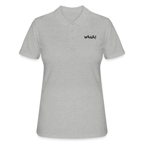 Whuh! Black by Dougsteins - Women's Polo Shirt