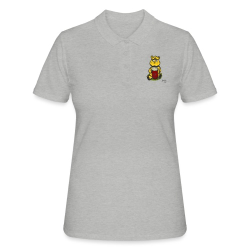 Ours Cool AngelerasCorp - Polo Femme