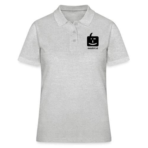 moi shirt back - Women's Polo Shirt