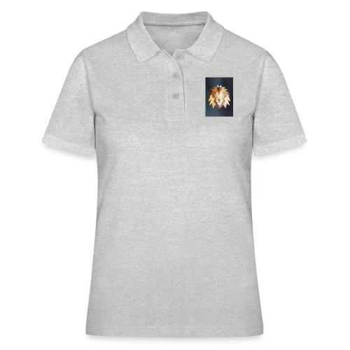 Polygon Lion - Frauen Polo Shirt