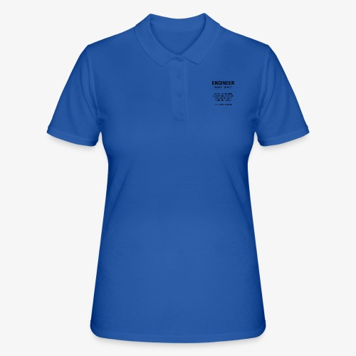 Engineer Def. 1 (Black) - Polo Femme