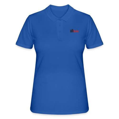 wodrocker logo - Women's Polo Shirt