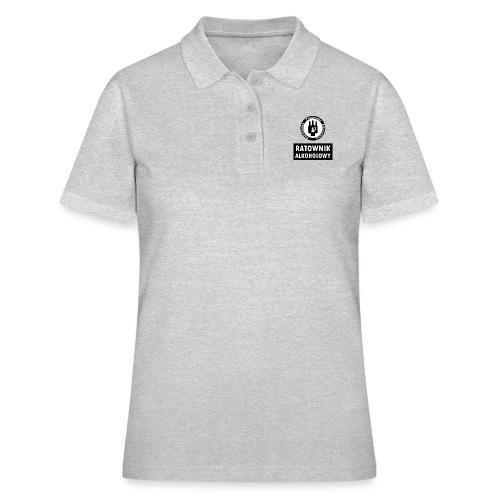 Ratownik alkoholowy - śmieszny prezent na urodziny - Women's Polo Shirt