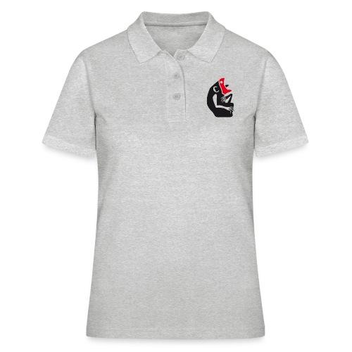 KNVR konvergenz BLACK - Frauen Polo Shirt