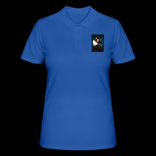 Death and lillies - Women's Polo Shirt
