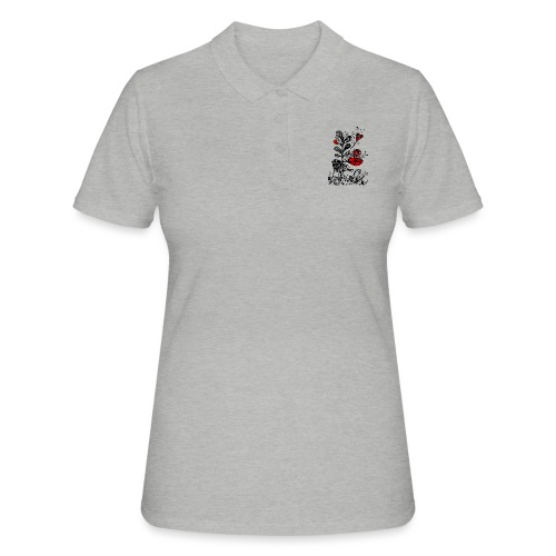 SVogerl mit Herz - Frauen Polo Shirt