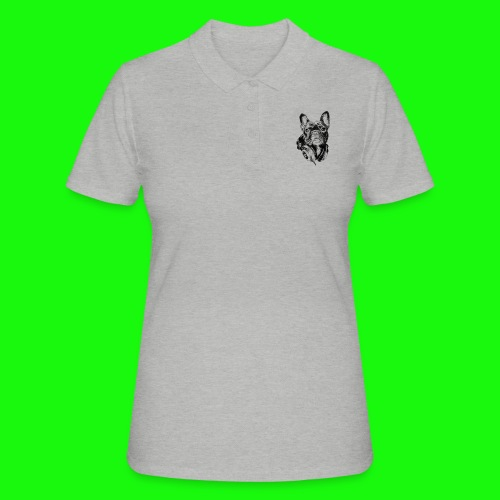 Small_Dog-_-_Bryst_- - Poloshirt dame