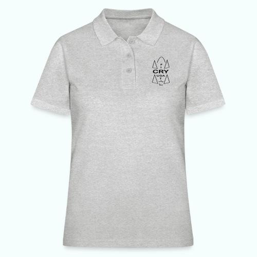 cry usa - Frauen Polo Shirt
