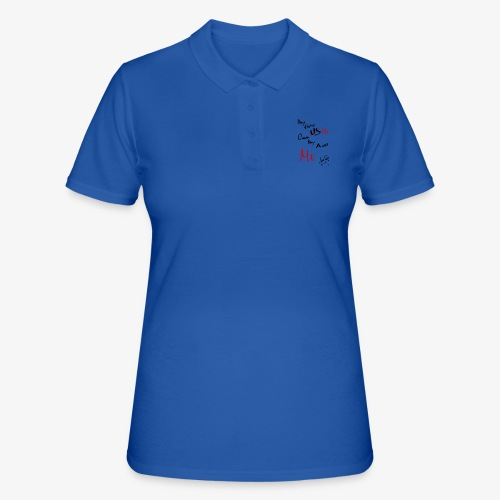 HATE US CAUS THEY AINT US - Camiseta polo mujer