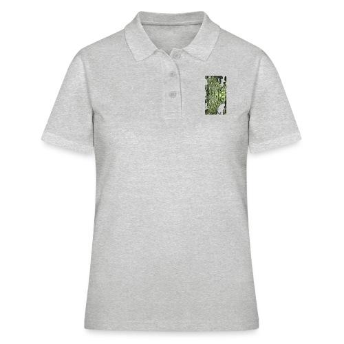cluster_pale_green_copy - Women's Polo Shirt