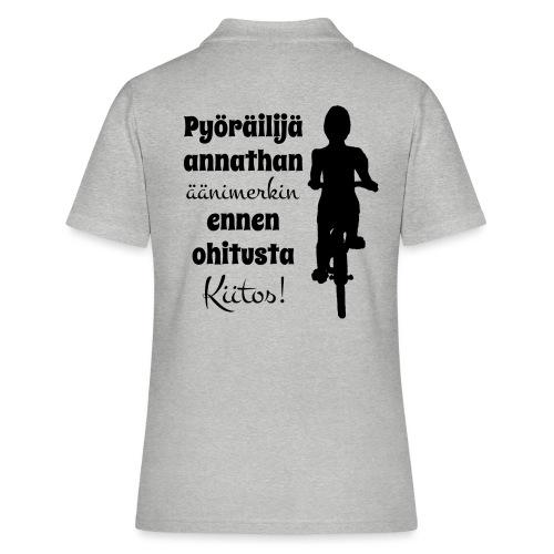 Äänimerkki ennen ohitusta, kiitos - Women's Polo Shirt