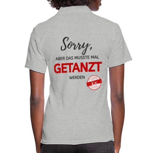 Sorry sr - Frauen Polo Shirt