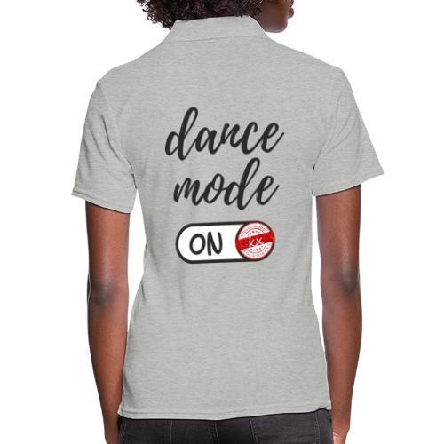Shirt dance mode schw - Frauen Polo Shirt
