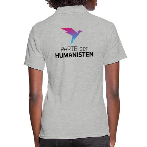Statement Logo beidseitig - Frauen Polo Shirt