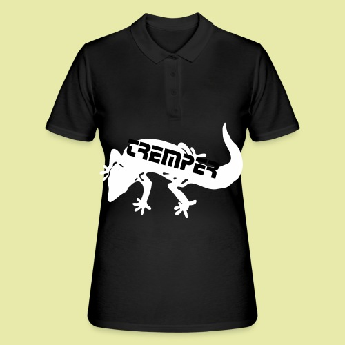 tremper_gecko_logo_einfach - Frauen Polo Shirt