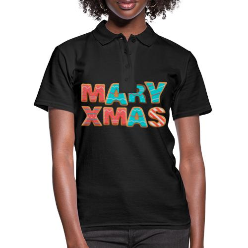 Mary Xmas - Maria Weihnachtsgeschenk - Frauen Polo Shirt