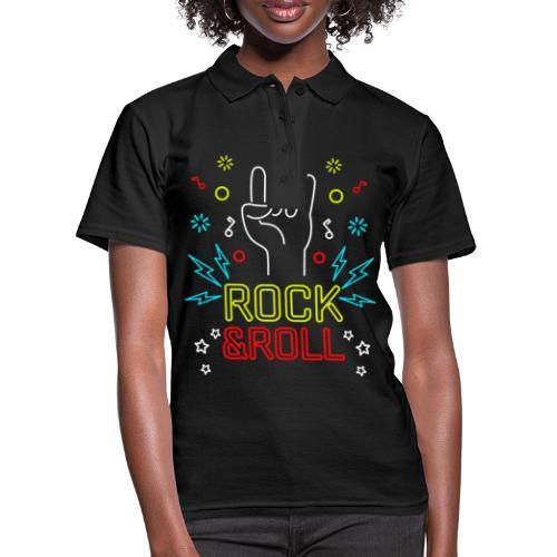 Rock & Roll - Frauen Polo Shirt