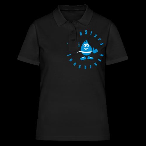 Logo DropStars Innsbruck Droppy - Frauen Polo Shirt