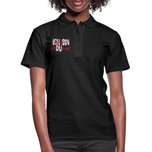 ICH BIN Weisheit groesser als Du denkst 2 - Frauen Polo Shirt