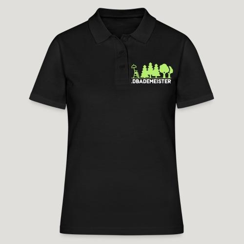 Waldbademeister fürs Waldbaden und Waldbad - Frauen Polo Shirt
