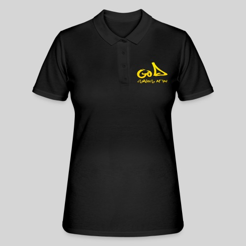Gott lächelt Dich an - God smiles at you - Frauen Polo Shirt