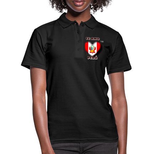 Te Amo Peru Corazon - Frauen Polo Shirt