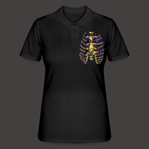 La Cage Thoracique de Cristal Creepy - Women's Polo Shirt