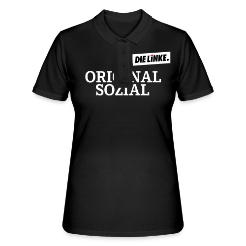 Schriftzug_original - Frauen Polo Shirt