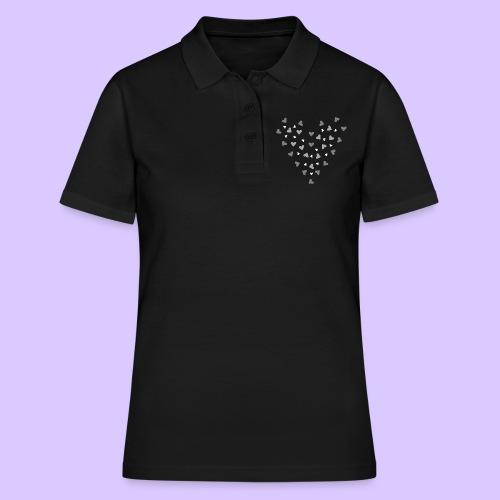 viele Herzen, Liebe, Verlobung, Hochzeit, Herz - Frauen Polo Shirt