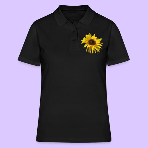blühende Sonnenblume, Sonnenblumen, Blumen, Blüten - Frauen Polo Shirt