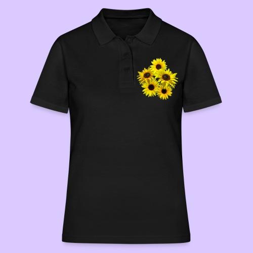 Sonnenblumenstrauss, Sonnenblume, Sonnenblumen - Frauen Polo Shirt