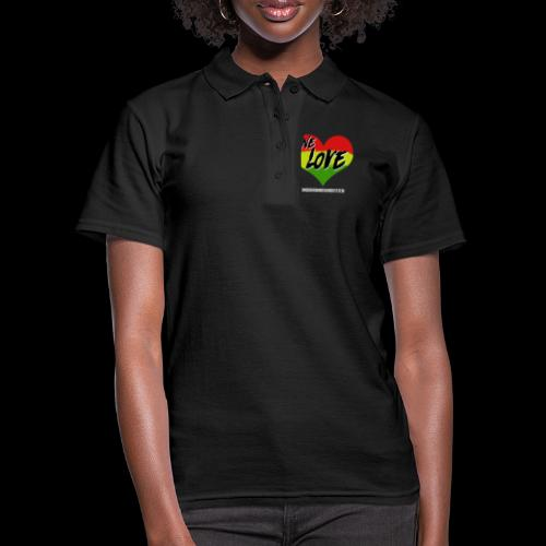 ONE LOVE - HEART - Frauen Polo Shirt