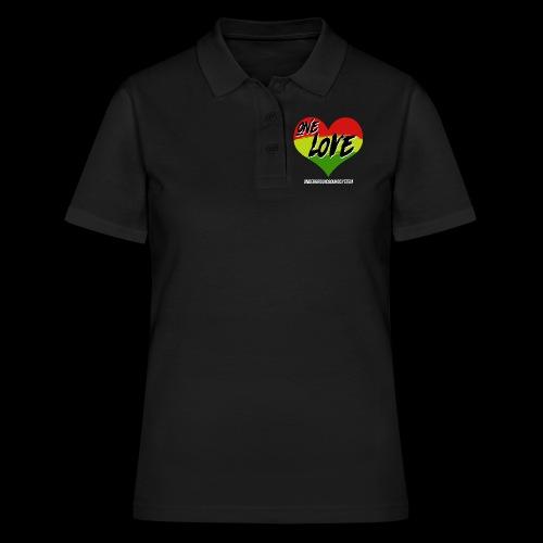 ONE LOVE - HEART - Frauen Polo Shirt