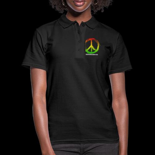 PEACE by UNDERGROUNDSOUNDSYSTEM - Frauen Polo Shirt