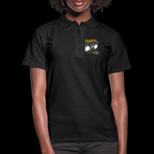 Reggae - Catch the Wave - Frauen Polo Shirt