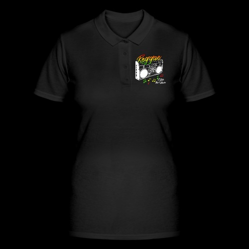 Reggae - Catch the Wave - Frauen Polo Shirt
