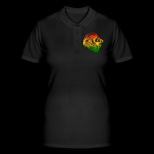 RASTA FARI LION - Frauen Polo Shirt