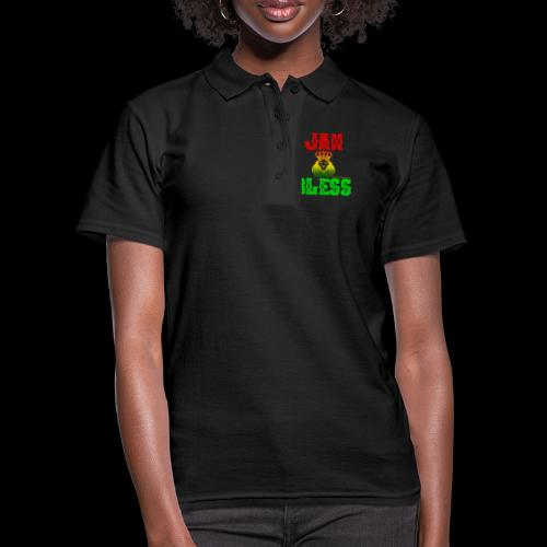 JAH BLESS RASTAFARI - Frauen Polo Shirt