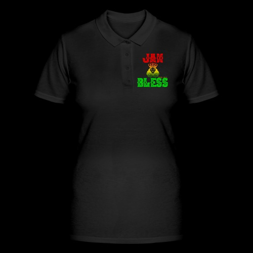 JAH BLESS RASTAFARI - Frauen Polo Shirt