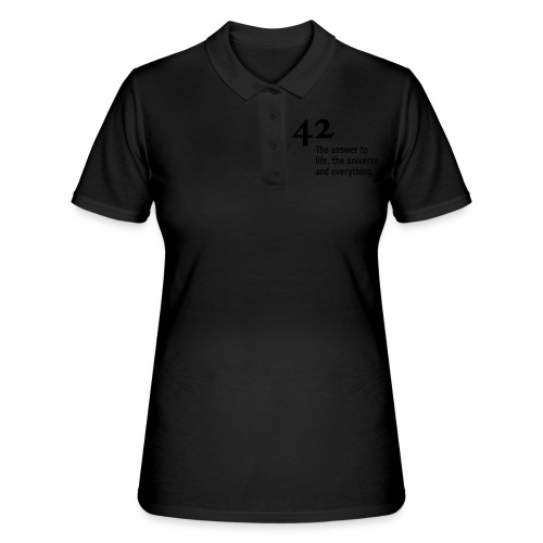 42 - the answer - Frauen Polo Shirt