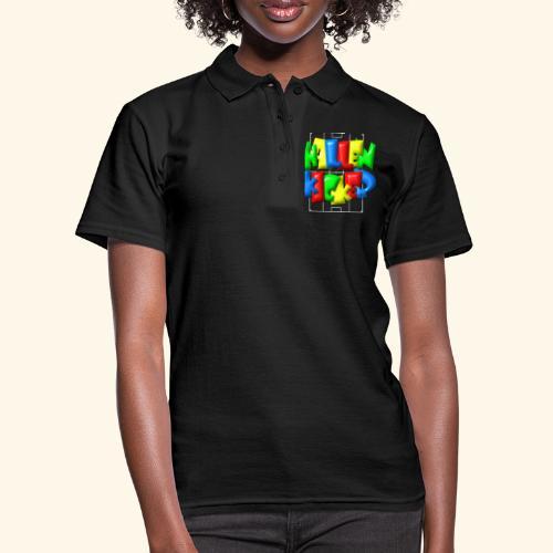 Hallenkicker im Fußballfeld - Balloon-Style - Frauen Polo Shirt