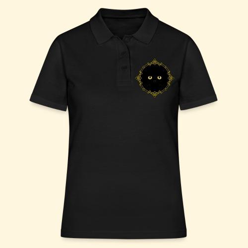 Badge Chat Noir - Pixel Art - Women's Polo Shirt