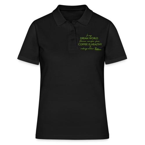 reiten dünn englisch - Frauen Polo Shirt