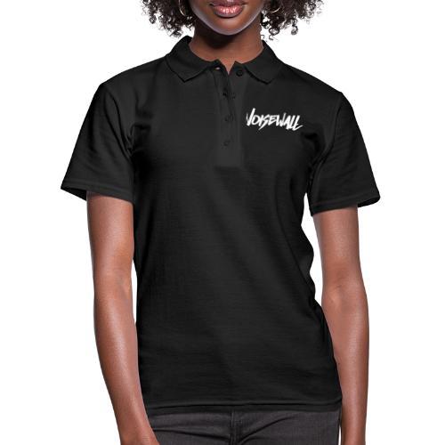 Noisewall white logo - Women's Polo Shirt