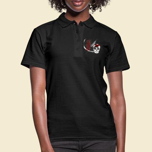 Radball | Cycle Ball Skull - Frauen Polo Shirt