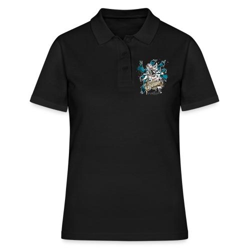 Sandra 2 2 png - Frauen Polo Shirt
