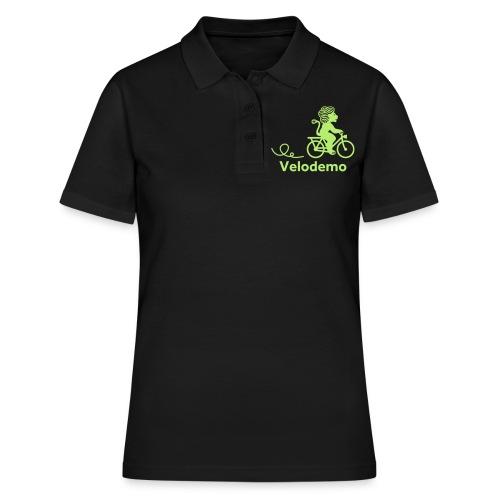 Züri-Leu mit Text - Frauen Polo Shirt